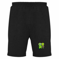 Мужские шорты Yoda and Grinch