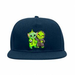 Снепбек Yoda and Grinch