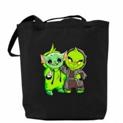 Сумка Yoda and Grinch