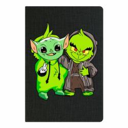 Блокнот А5 Yoda and Grinch
