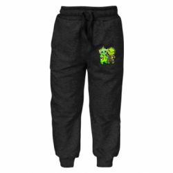 Детские штаны Yoda and Grinch