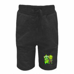 Детские шорты Yoda and Grinch