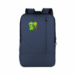 Рюкзак для ноутбука Yoda and Grinch