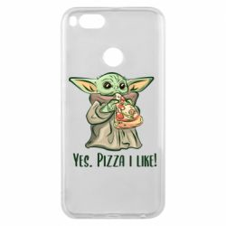 Чехол для Xiaomi Mi A1 Yoda and pizza