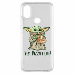 Чехол для Xiaomi Mi A2 Yoda and pizza