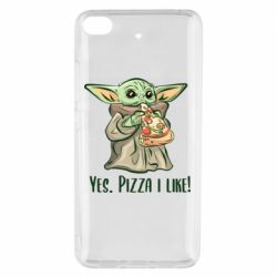 Чехол для Xiaomi Mi 5s Yoda and pizza