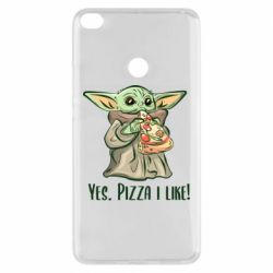 Чехол для Xiaomi Mi Max 2 Yoda and pizza