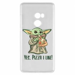 Чехол для Xiaomi Mi Mix 2 Yoda and pizza