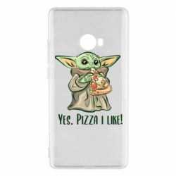 Чехол для Xiaomi Mi Note 2 Yoda and pizza