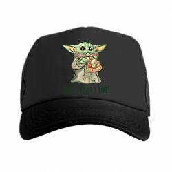 Кепка-тракер Yoda and pizza