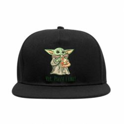 Снепбек Yoda and pizza