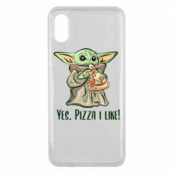 Чехол для Xiaomi Mi8 Pro Yoda and pizza