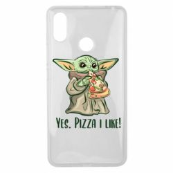 Чехол для Xiaomi Mi Max 3 Yoda and pizza