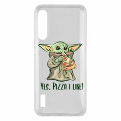 Чохол для Xiaomi Mi A3 Yoda and pizza