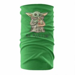 Бандана-труба Yoda and pizza