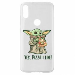 Чехол для Xiaomi Mi Play Yoda and pizza