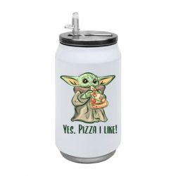 Термобанка 350ml Yoda and pizza