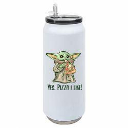 Термобанка 500ml Yoda and pizza