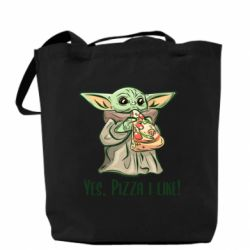 Сумка Yoda and pizza