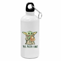 Фляга Yoda and pizza