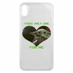 Чехол для iPhone Xs Max Yoda only one for my