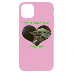Чехол для iPhone 11 Pro Yoda only one for my