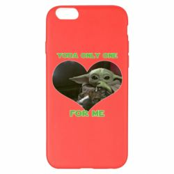 Чехол для iPhone 6 Plus/6S Plus Yoda only one for my