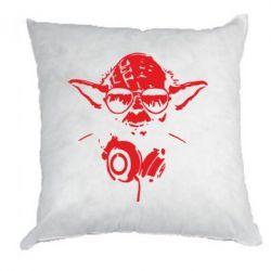Подушка Yoda в наушниках - FatLine