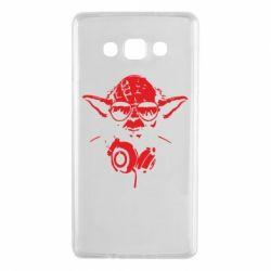 Чохол для Samsung A7 2015 Yoda в навушниках