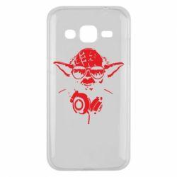 Чохол для Samsung J2 2015 Yoda в навушниках