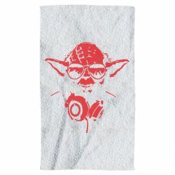 Полотенце Yoda в наушниках