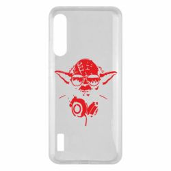 Чохол для Xiaomi Mi A3 Yoda в наушниках