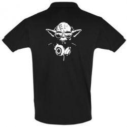 Футболка Поло Yoda в навушниках