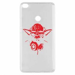 Чехол для Xiaomi Mi Max 2 Yoda в наушниках