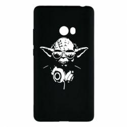 Чехол для Xiaomi Mi Note 2 Yoda в наушниках