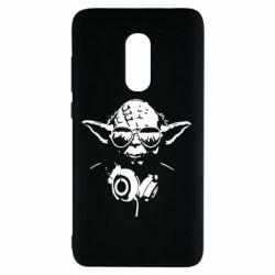 Чехол для Xiaomi Redmi Note 4 Yoda в наушниках