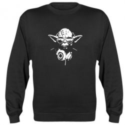 Реглан (свитшот) Yoda в наушниках - FatLine