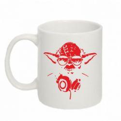 Кружка 320ml Yoda в наушниках - FatLine