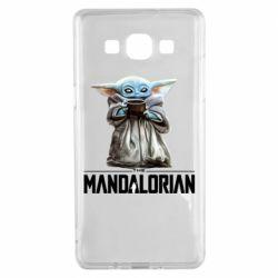 Чехол для Samsung A5 2015 Yoda with a cup