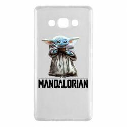 Чехол для Samsung A7 2015 Yoda with a cup