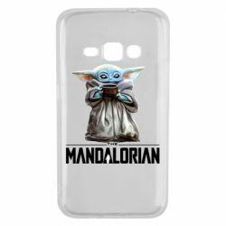 Чехол для Samsung J1 2016 Yoda with a cup