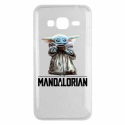 Чехол для Samsung J3 2016 Yoda with a cup
