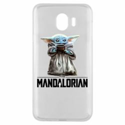 Чехол для Samsung J4 Yoda with a cup