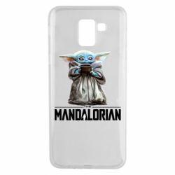Чехол для Samsung J6 Yoda with a cup