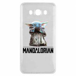 Чехол для Samsung J7 2016 Yoda with a cup