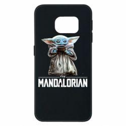 Чехол для Samsung S6 EDGE Yoda with a cup