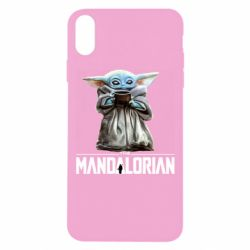 Чехол для iPhone Xs Max Yoda with a cup