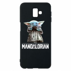 Чехол для Samsung J6 Plus 2018 Yoda with a cup