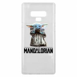 Чехол для Samsung Note 9 Yoda with a cup