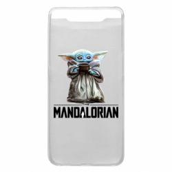 Чехол для Samsung A80 Yoda with a cup
